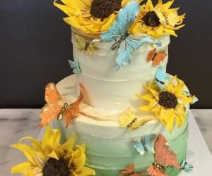 Garden Sunflower Cake