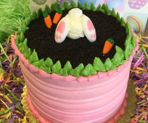 Rabbit Hole Cake