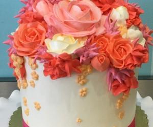 Floral Bouquet Cake