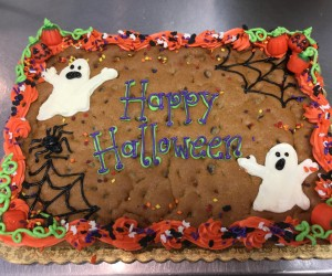 Halloween Cookie Cakes
