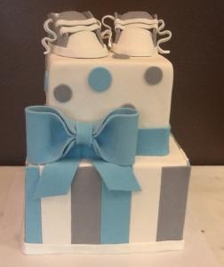 Baby Sneaker Cake