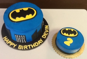 Batman Birthday and Smash Cake