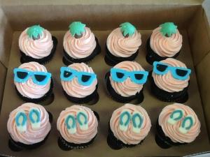 Beach Theme Cupcakes 2