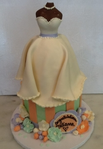 Bridal Shower Doll Cake