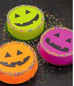 Bright Halloween Cakes