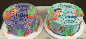Bubble Guppies Cakes