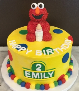 Elmo Baby Bottle Cake