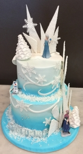 Frozen Themed Tier Cake