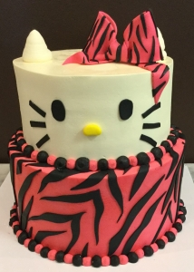 Hello Kitty Diva Cake