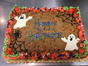 Halloween Cookie Cakes