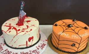 More Halloween Cakes!