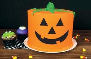 Jack O' Latern Cake