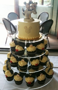 Mickey & Minnie Cupcake Tower