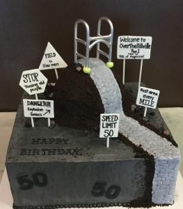 Over the Hill Walker Cake