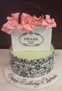 Prada Bag Birthday Cake