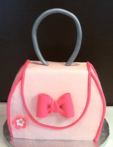 Purse Cake Pinke