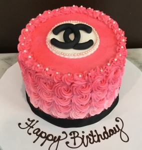 Rosette Chanel Cake