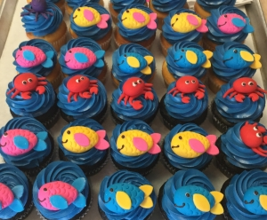 Sea Creature Cupcakes
