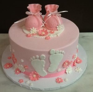 Baby Shower Pink Cake
